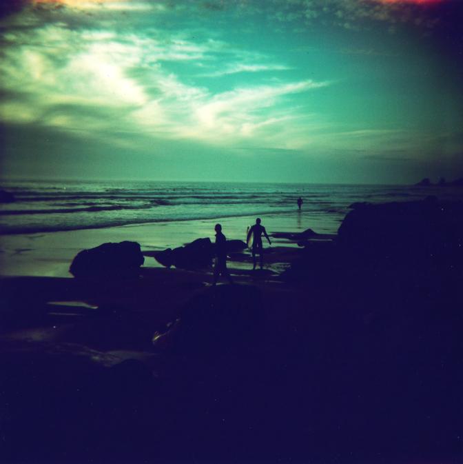 Un soir de surfeurs